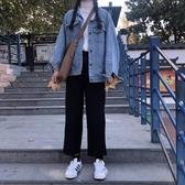 寬鬆直筒褲春秋季休閒大碼工裝學生cec西裝褲女小腳九分褲哈倫褲 嬌糖小屋