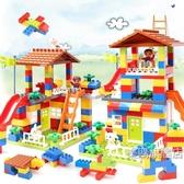 積木兼容兒童積木玩具寶寶益智拼裝城市汽車大顆粒城堡拼插1-6歲