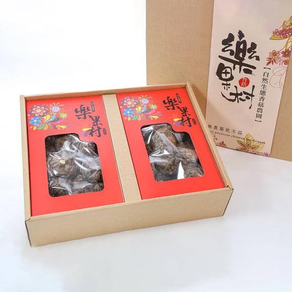 【鮮食優多】樂果村 有機乾冬菇禮盒