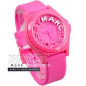 MARC JACOBS 精品錶 經典品味活力女錶 桃粉 MBM4023  marc by marc jacobs 防水手錶