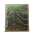 【收藏天地】台灣紀念品*懷舊系列麻繩筆記本-九份