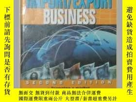 二手書博民逛書店原版英文書《罕見Building an Import Expor