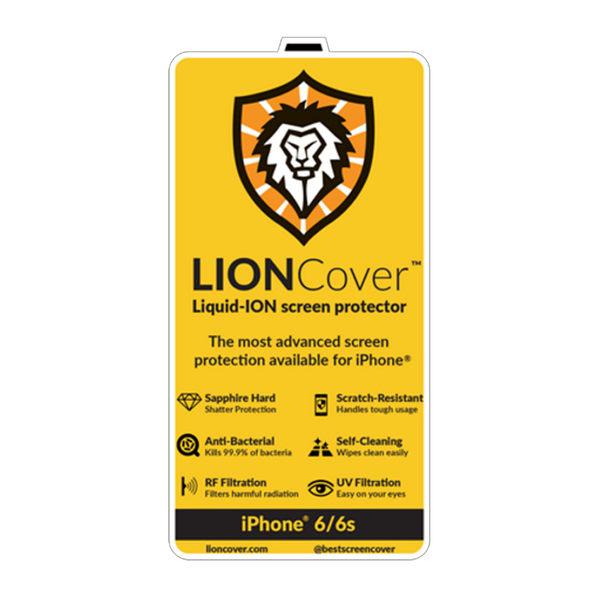 LionCover iPhone6S 水鑽石玻璃保護貼