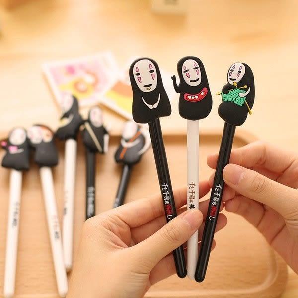 【發現。好貨】宮崎駿 千與千尋 神隱少女無臉男中性筆 立體造型原子筆 實用療癒可愛創意小物