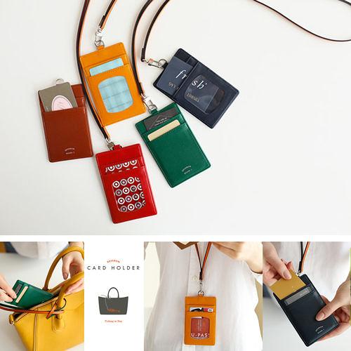 【韓國創意品牌 invite.L】韓國正品空運!! 識別證夾 信用卡夾 名片夾 雙面設計 俐落簡約風格