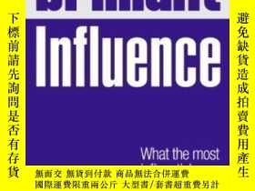 二手書博民逛書店Brilliant罕見Influence: What The Most Influential People Kn