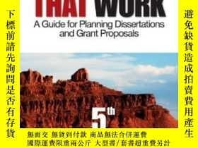 二手書博民逛書店Proposals罕見That WorkY256260 Locke, Lawrence F.  Spirdus