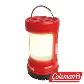 Coleman BATTERYLOCK PUSH 營燈/紅 電池鎖定營燈 露營燈 探照燈 吊燈 CM-27296M