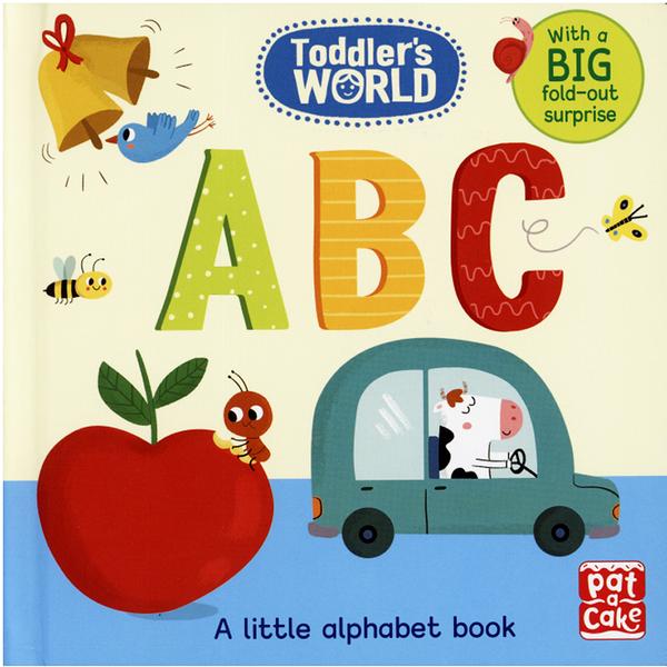 【幼兒認知書--字母學習】TODDLER'S WORLD : ABC /硬頁書