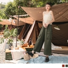 《KG1151-》率性大口袋工裝直筒寬版長褲 OB嚴選