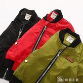 夾克男童外套春秋裝新款兒童夾克衫韓版秋季休閒外套潮童貼標夾克 娜娜小屋
