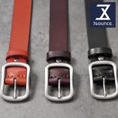 74盎司 皮帶 設計全真皮皮帶[Z-341]