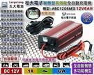 【久大電池】松大ABC1206台灣精品12V 鋁殼 智慧散熱 高效能充電機-機車電瓶-汽車電池充電器