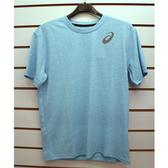 (A9)ASICS 亞瑟士 運動透氣排汗GENERAL短袖T恤 K11606-42 淡藍[陽光樂活]