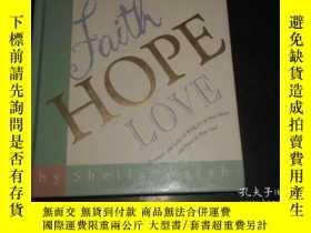 二手書博民逛書店FAITH罕見HOPE LOVEY20470 SHEILA WA