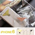 APPLE Iphone6 4.7吋 超薄透明殼 質感金屬標 純系列 手機殼 矽膠套