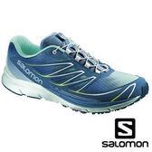 Salomon SENSE MANTRA 3 女 輕量城市路跑鞋 冰藍/螢火蟲綠 戶外|健行鞋 373197