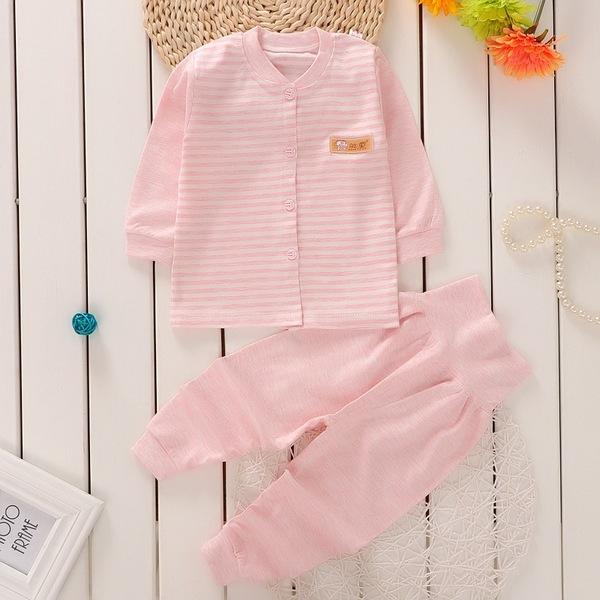 長袖護肚套裝 棉質家居服 新生兒肚衣套裝 嬰兒內衣套裝 童裝 HY1204 好娃娃