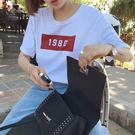 (全館一件免運)DE SHOP~韓版經典數字1980短袖T恤女(T-952)均碼