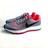 大童 NIKE ZOOM PEGASUS 34 (GS) 透氣避震慢跑鞋《7+1童鞋》D893銀灰色