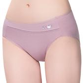 思薇爾-惹萌漾小鳥遊記系列M-XXL中腰三角內褲(絹荷紫)