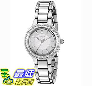 [106美國直購] 手錶 DKNY Women's NY2391 CHAMBERS Silver Watch