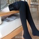 1000D秋冬微壓顯瘦加絨加厚連褲襪光腿肉色襪保暖神器打底襪 快速出貨