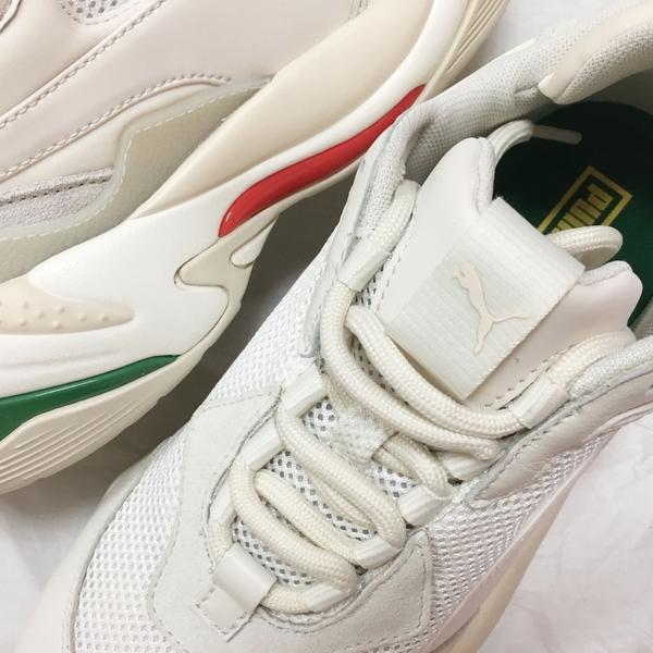 IMPACT Puma Thunder Spectra 老爹鞋 紅 綠 白 米白 復古 泫雅 367516-12