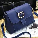 斜背包。純色 簡約 女 郵差包 側背包(SBA0203) AngelNaNa