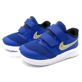 《7+1童鞋》小童 NIKE STAR RUNNER 2 (TDV) 輕量網布透氣 運動鞋 慢跑鞋 G893 藍色