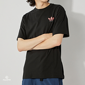 Adidas HJ G SS TEE 男 黑 圖案 滑板 短袖 GL9981