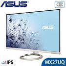 【免運費】ASUS 華碩 MX27UQ 27型 4K IPS 專業螢幕 薄邊框 廣視角 內建喇叭 無線音樂 雙HDMI 三年保固