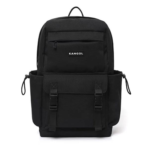 KANGOL 後背包 電腦包 黑 多功能 夾層 大容量 男女 (布魯克林) 6055320320