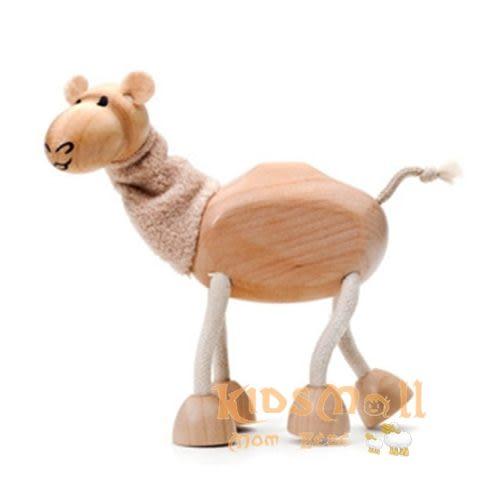 澳洲Anamalz,有機楓木動物造型玩偶-農場動物-駱駝Camel