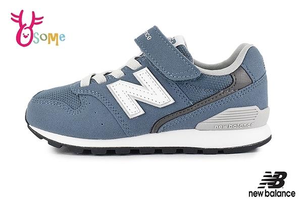 New Balance童鞋 996男童運動鞋 跑步鞋 透氣 耐磨 休閒運動鞋 零碼出清 O8495#藍色◆OSOME奧森鞋業
