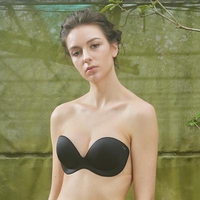 LeRêveParis |法式美型AirBra基本版|-時尚黑 露背露肩、洋裝婚紗必備