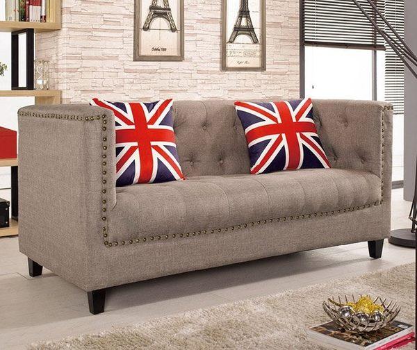 8號店鋪 森寶藝品傢俱 a-01 品味生活 沙發系列720-2 凱文二人位沙發椅(不含茶几)