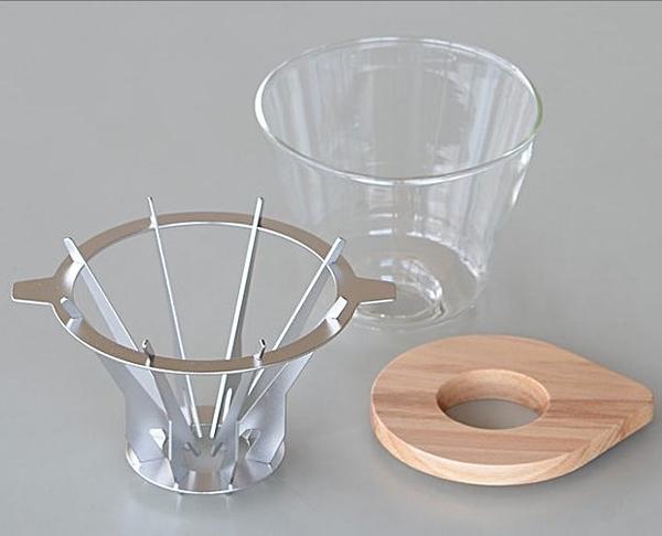 【沐湛咖啡】日本 Slow&Mellow 垂直濾杯 2-4人錐形濾杯