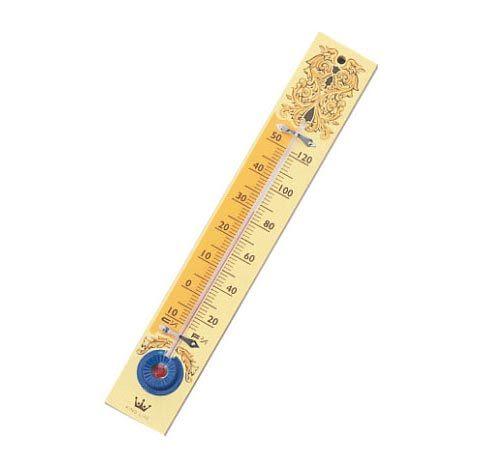 徠福LIFE 木製溫度計( 8 1/2木製) [NO.2470]
