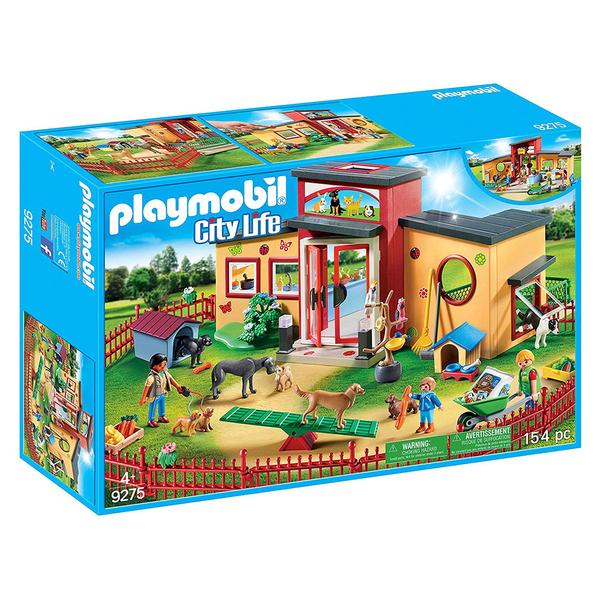 playmobil 城市 小爪子動物飯店_ PM09275