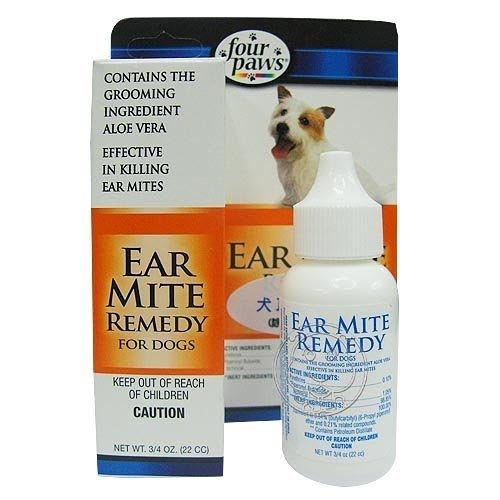 【培菓寵物48H出貨】美國Four Paws》四爪犬用耳疾藥劑22cc(驅蟲除垢)