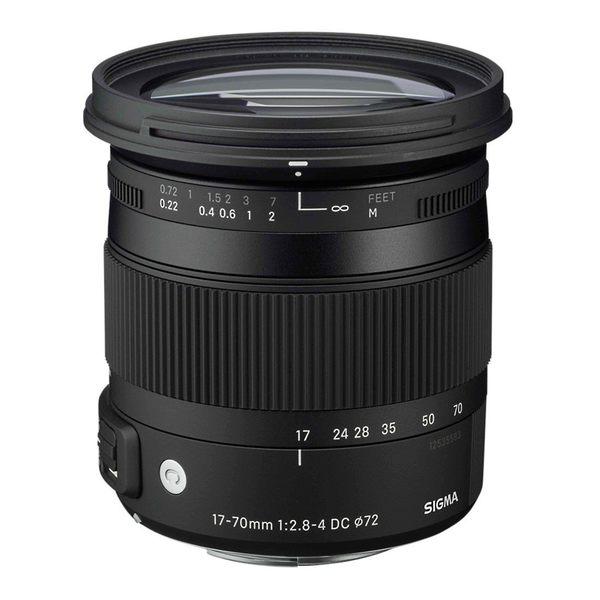 【聖影數位】SIGMA 17-70mm F2.8-4 DC MACRO OS HSM [Contemporary] APS-C 專用鏡頭 (恆伸公司貨 三年保固)