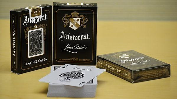 【USPCC 撲克】 S103049096 Aristocrat Black Edition Playing Cards
