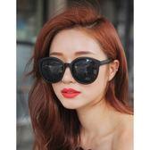 現貨-韓國ulzzang原宿復古墨鏡新款韓國潮牌太陽鏡時尚男女墨鏡明星款白色圓框太陽眼鏡107