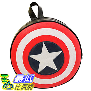 [美國直購] 美國隊長書包 Lily Bell Avengers Captain America Shield Student Backpack Book Bag