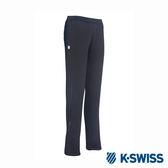 K-SWISS Jersey Pants韓版運動長褲-女-黑