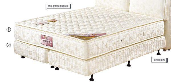 【森可家居】5x6.2尺進口布床底 7JX89-3