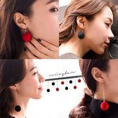 ★現貨★MIUSTAR 聖誕派對!毛球短/長款耳勾耳夾式造型耳環(共8色)【ND5766T1】