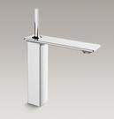 【麗室衛浴】美國KOHLER活動促銷 Stance系列 加高面盆龍頭 K-72843T-4-CP