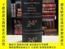 二手書博民逛書店The罕見Anatomy of Melancholy《憂鬱的解剖